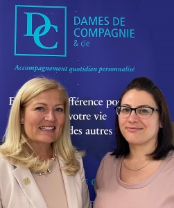 Marie-Chantal et Cynthia
